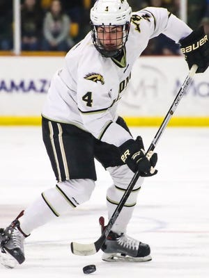 The Kansas City Mavericks signed rookie defenseman Luke Bafia of Western Michigan University and extended qualifying offers to seven other players Wednesday.