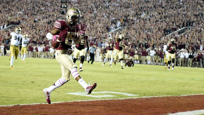 Sophomore receiver Travis Rudolph will be counted on to improve upon his strong 2014 season.
