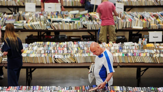 This year's Friends of Abilene Public Library Annual Book Sale will be June 14-17.