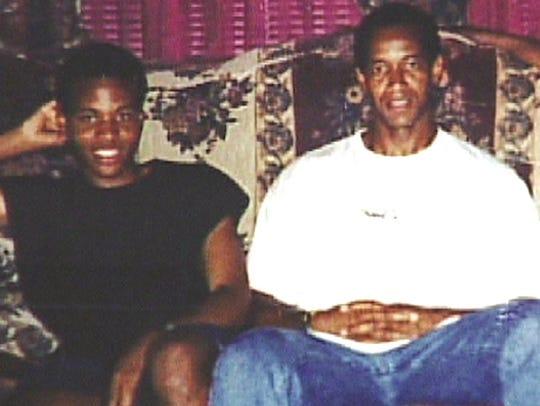 John Lee Malvo (left) and John Allen Muhammad are seen