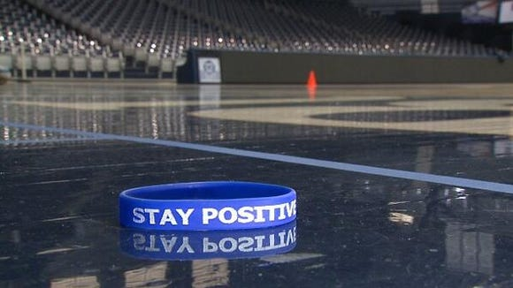 """Stay Positive"" will be the theme Saturday at Hinkle Fieldhouse."