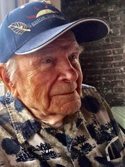 Leo Baldwin, 97, grew up in Fort Shaw, where his father