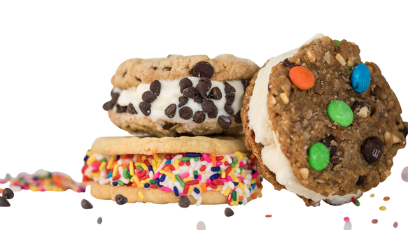 Ice Cream Cookie Sandwiches from Stensland Family Farm