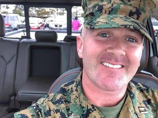 Marine Maj. Lee Stuckey