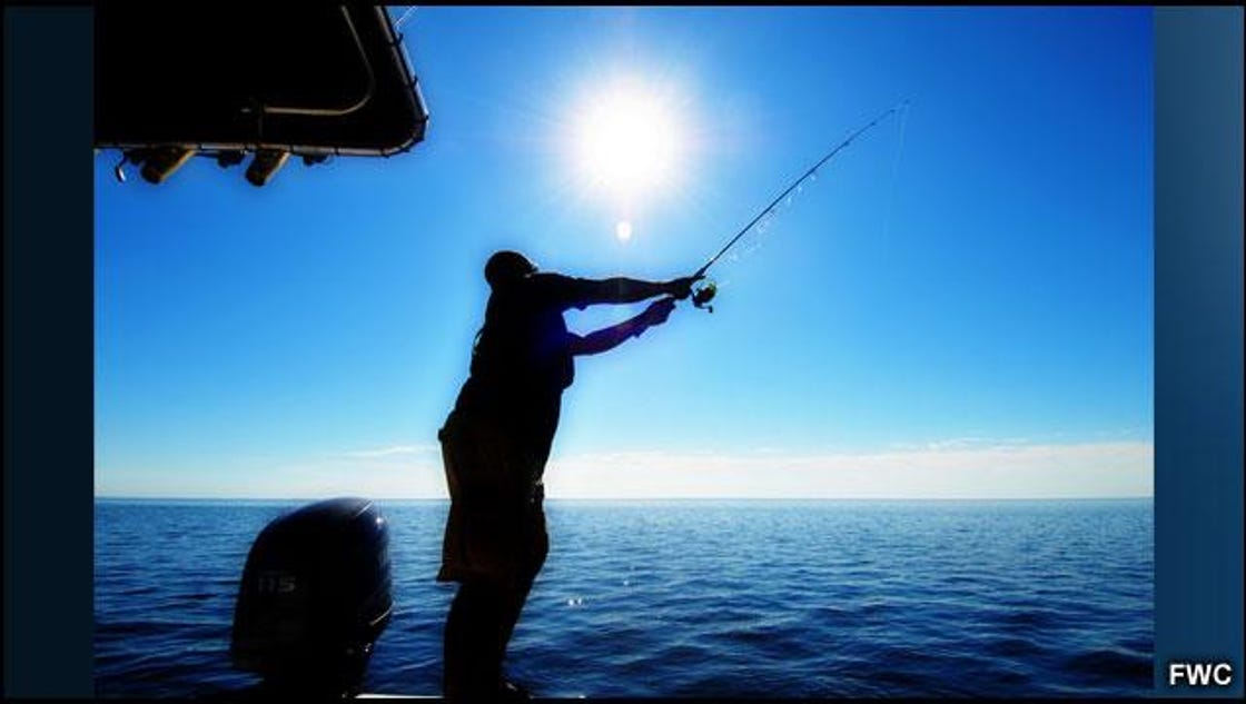 Two license free fishing weekends in june for Florida fishing license lookup