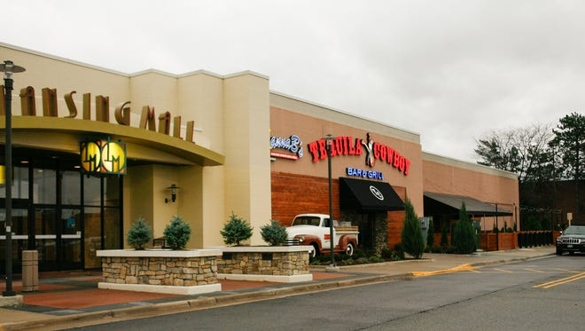 Tequila Cowboy Bar & Grill, opening Dec. 3 in the Lansing Mall.