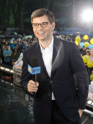 George Stephanopolous is ABC's chief anchor, host of the network's Sunday morning political talk show.