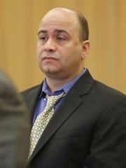 Wilton Calderon during his preliminary hearing in Portage
