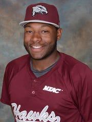 UMES baseball player Jamison Trower