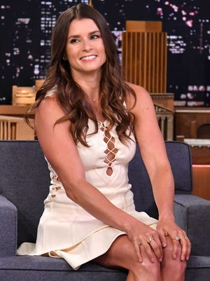 """Danica Patrick visits """"The Tonight Show Starring Jimmy Fallon"""" at Rockefeller Center on May 22."""