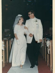 Karen (Hamersley) and David Studebaker were married June 13, 1965.