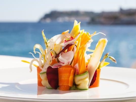 Monte-Carlo Beach - Restaurant Elsa - Plats