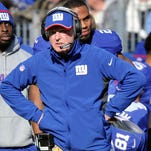 Giants coach Tom Coughlin was pleased with his team's effort against the Tennessee Titans on Sunday.