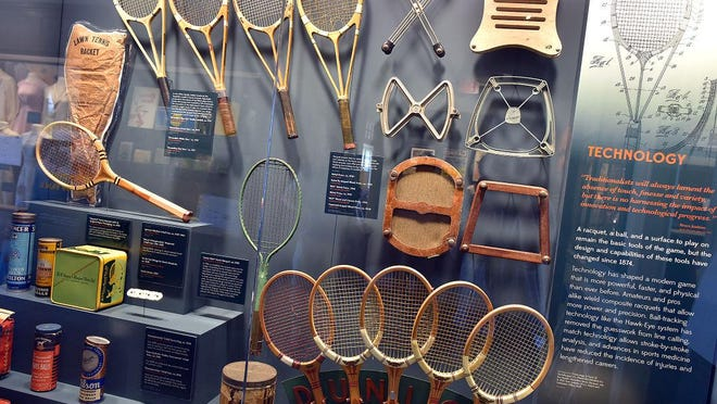 The International Tennis Hall of Fame Museum is again open to the public.