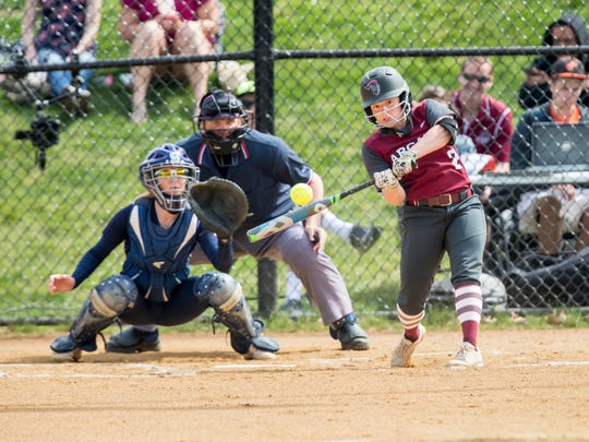In her freshman year with the Arcadia softball team, Central York graduate Kayla Resh batted .321 with 15 runs scored and 12 RBIs. She also pitched five complete games with one shutout.
