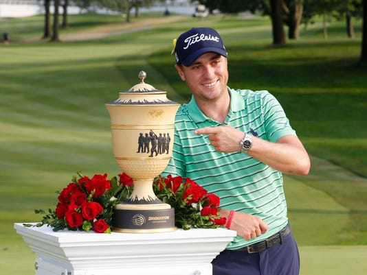 USP PGA: WGC - BRIDGESTONE INVITATIONAL - FINAL RO S GLF USA OH