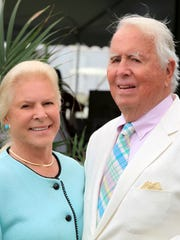 Lois and Eugene Colley at Mashomack Polo Match, June 27