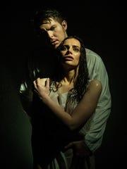 Olga Tolkmit as Tamara and Efim Zavalny as Demon in