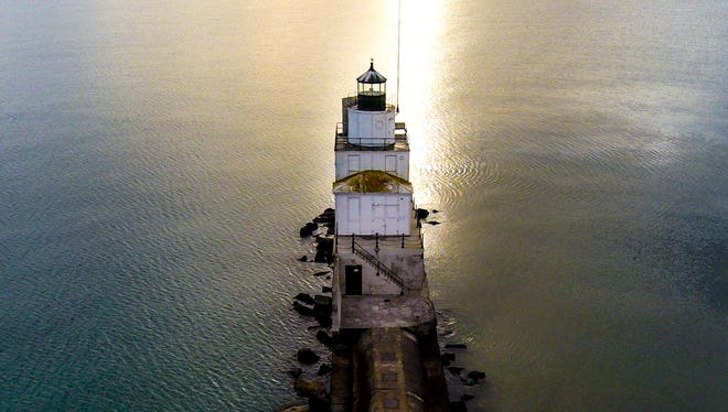 """Manitowoc Lighthouse — Drone,"" by Michael Henderson."