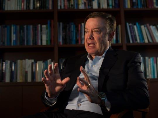Arizona State University president Dr. Michael Crow