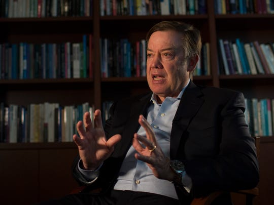 Arizona State University president Dr. Michael Crow