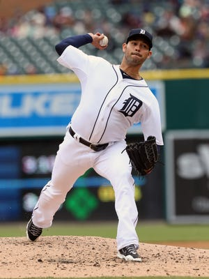 Tigers pitcher Anibal Sanchez