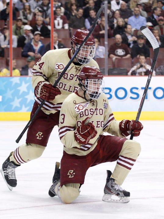 NCAA Frozen Four Union Boston College Hockey