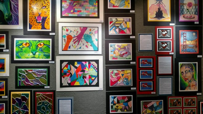 The Heritage Art Gallery it's the 29th Annual Student Art Exhibition on display through Saturday, April 1.