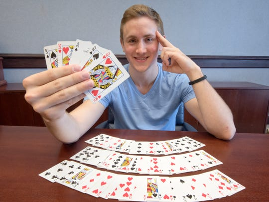 Even before his trip to the 24th World Memory Championships in Chengdu, China, Alex Mullen was ranked worldwide as a contestant, thanks to such feats as recalling the arrangement of a 52-card deck in under 29 seconds.