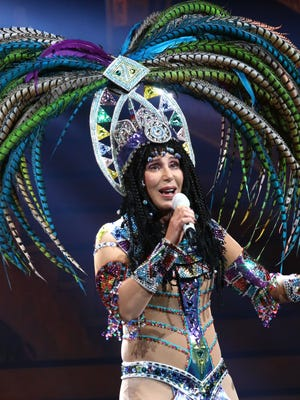 Cher performs at the Barclay's Center in Brooklyn on May 9.