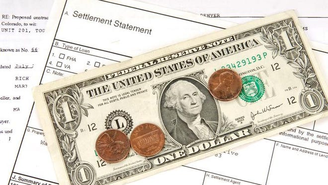 A loan contract settled for pennies on the dollar