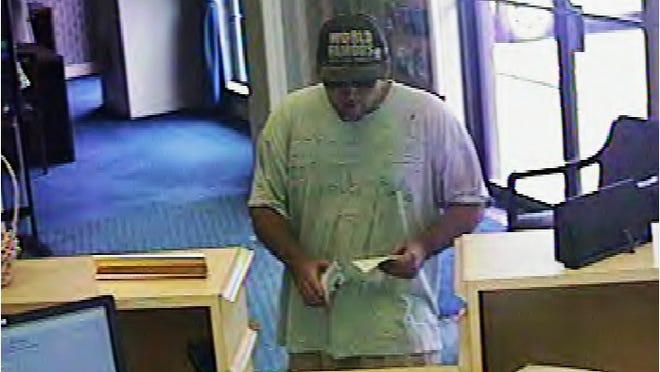 This man is accused of robbing the Bank of Kentucky in Fort Wright Wednesday.
