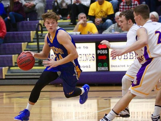 Waynesboro's Cameron Keck is one of four core returners for the Indians this season