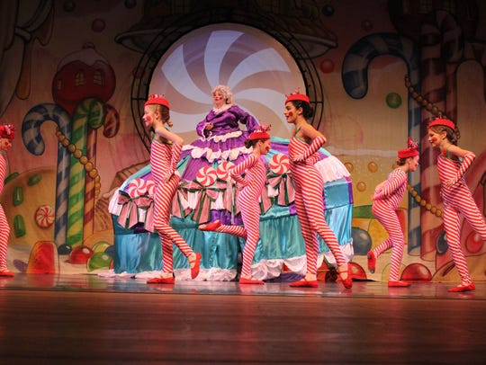 "A scene from the Las Cruces Chamber Ballet 's ""The"