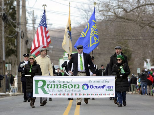 Rumson NJ hosted its 5th Annual St. Patricks Day Parade