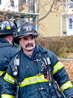 Firefighter Timothy Gunther died after suffering cardiac-related problems at the scene of a fatal fire in Poughkeepsie in 2015.