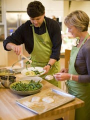 Cavallo Point Lodge in Sausalito, California, features a cooking school among other eco-friendly amenities.