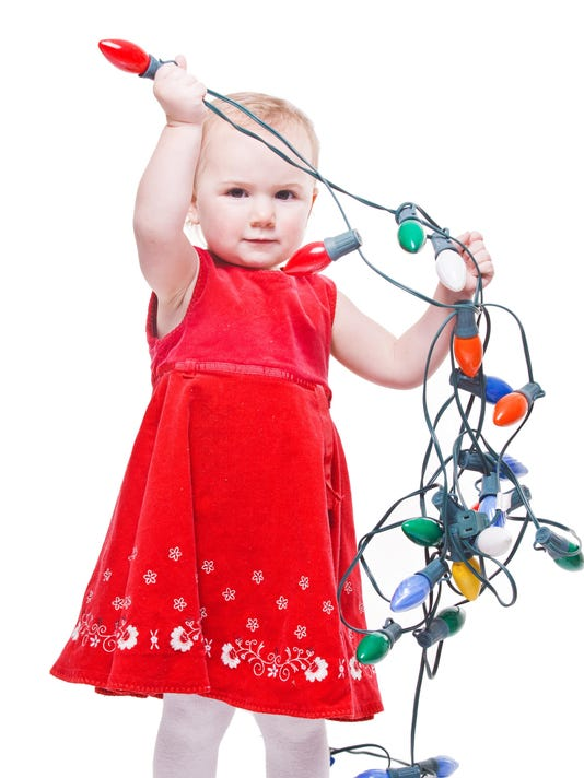 Christmas Light Toddler