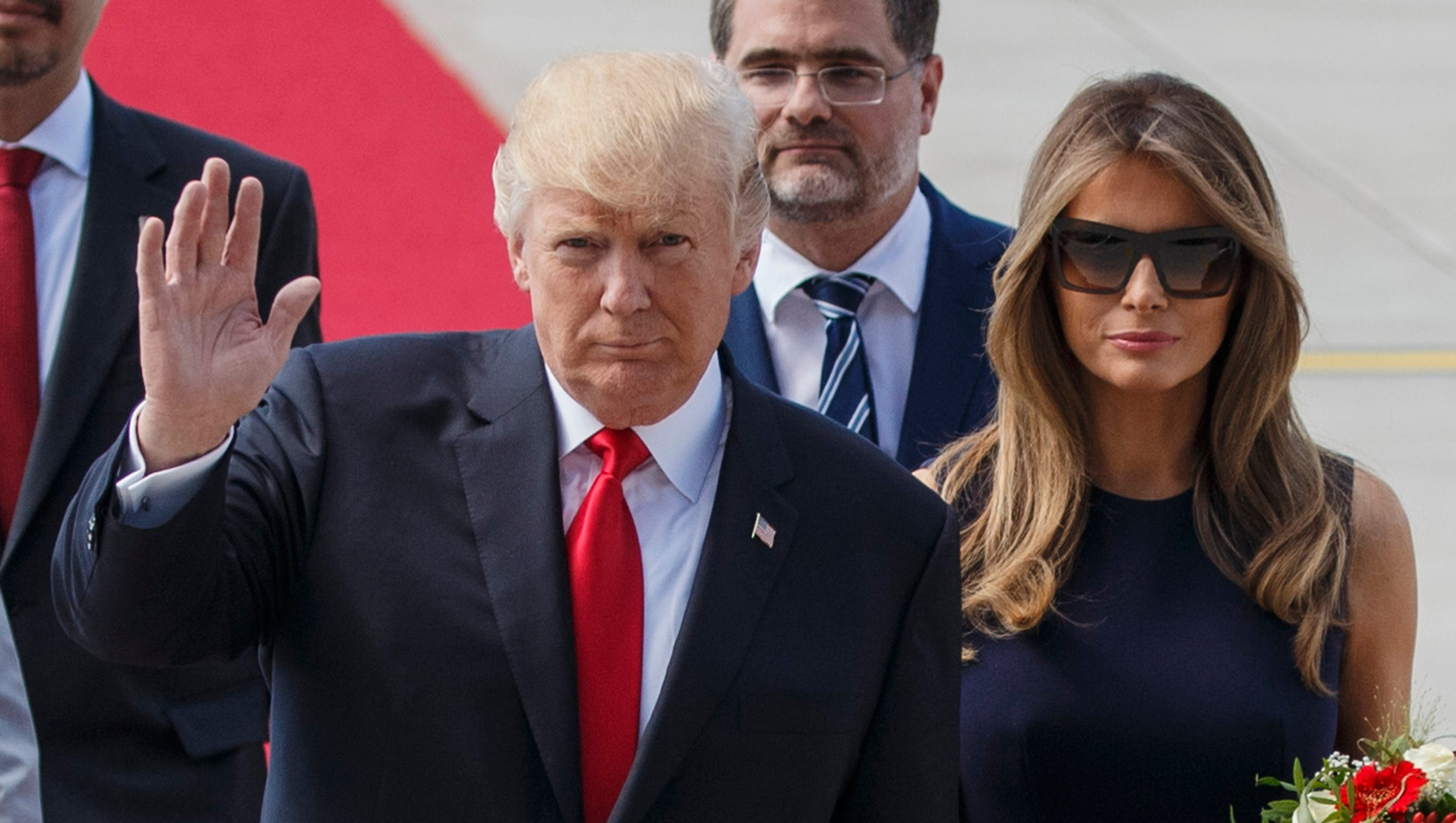 Melania Trump forced to skip G-20 event due to protests