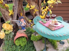 Fairy gardens are small on size, big on whimsy