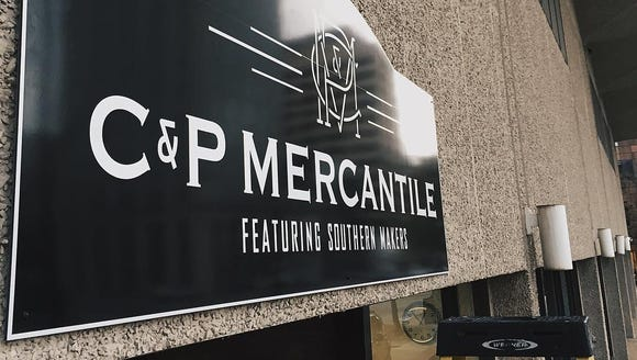 C&P Mercantile is open six days a week in downtown