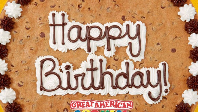 Great American Cookie Company is 40!