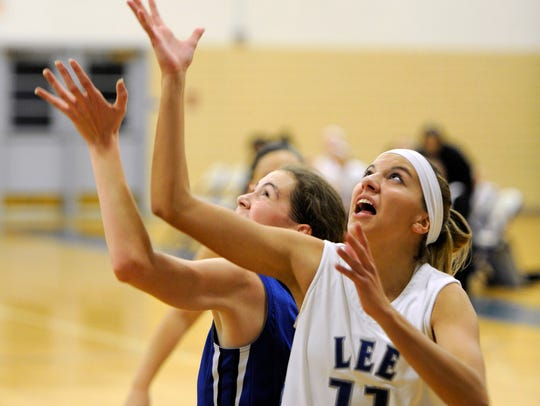 Sara Sabo (11) returns as one of Lee High's leading