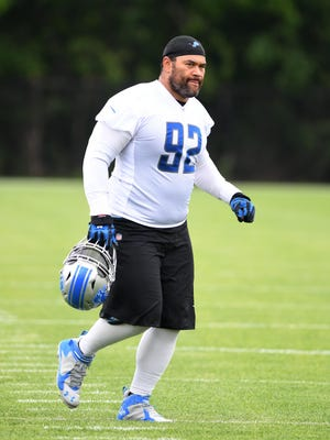 Veteran Haloti Ngata returned to the Lions only after a two-week examination of his brain.