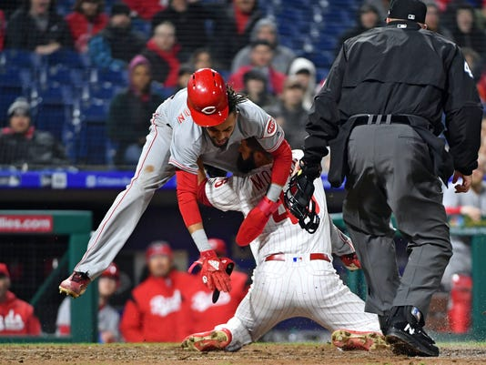 MLB: Cincinnati Reds at Philadelphia Phillies