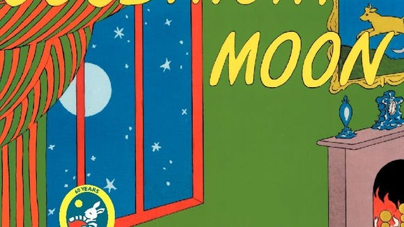 Book jacket of 'Goodnight Moon' by Margaret Wise Brown, pictures by Clement Hurd. (Photo: USA Today)