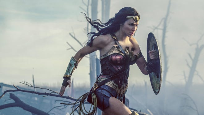 """Gal Gadot stars in """"Wonder Woman,"""" which has made $330.53 million at the movie box office so far."""