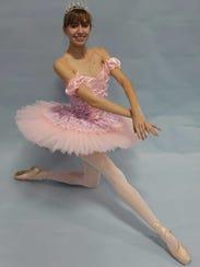 "Aly Bowyer stars as Sugar Plum in ""Nutcracker Ballet"