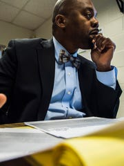 Burlington School Superintendent Yaw Obeng spoke with the Burlington Free Press about his strategic plans for the district on Wednesday, Jan. 12, 2017.