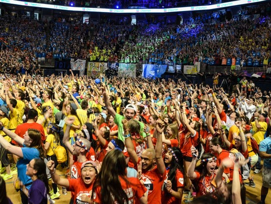 THON, the largest student-run philanthropy in the world,